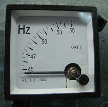 99T1/SQ48-HZ 48*48mm Panel medidor de frecuencia puntero analógico 45 - 55 medidor de HZ