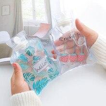 Мультяшный многоразовый ледяной пакет милые мини прозрачные грелки маленький портативный ручной подогреватель охлаждающий воду холодный ледяной мешок