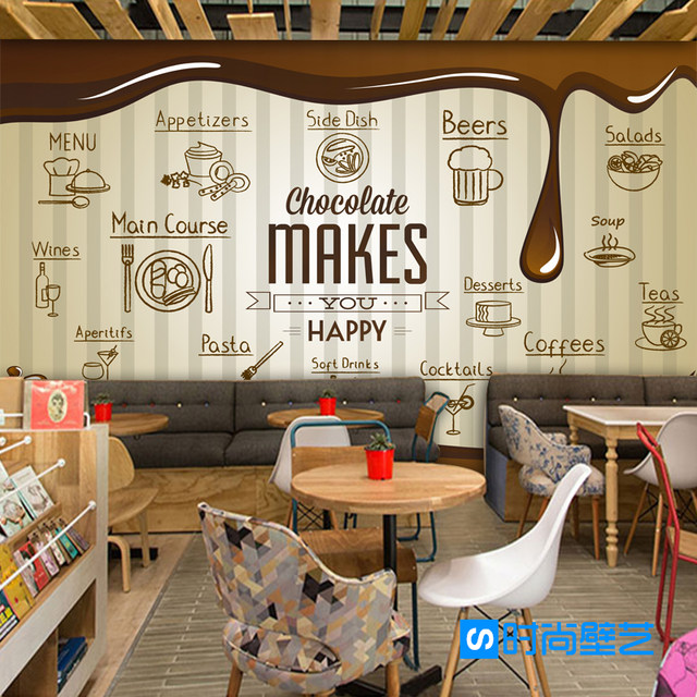 Online Shop Photo wallpaper food style chocolate wallpaper ...