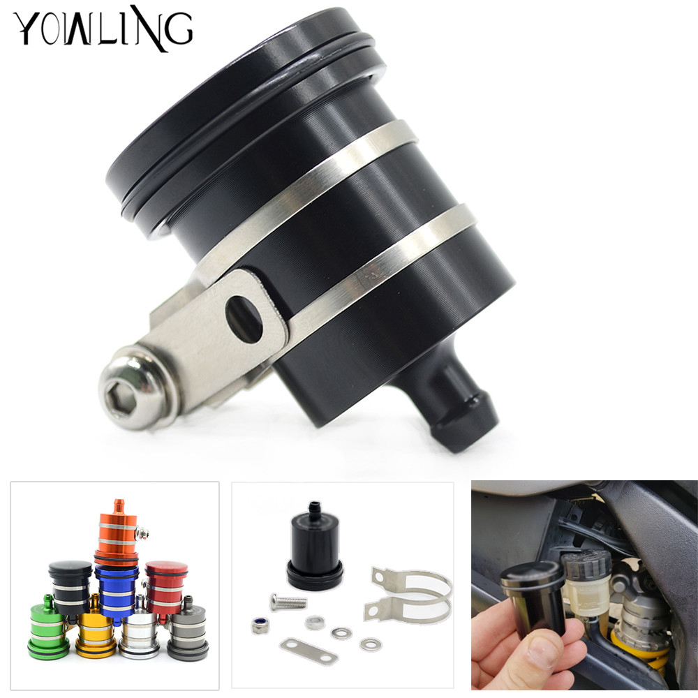 Motorcycle Brake Fluid Reservoir Clutch Tank Oil Fluid Cup For YAMAHA R1 R3 R6 MT-07 MT-09 MT07 MT-07 TMAX 530 TMAX500