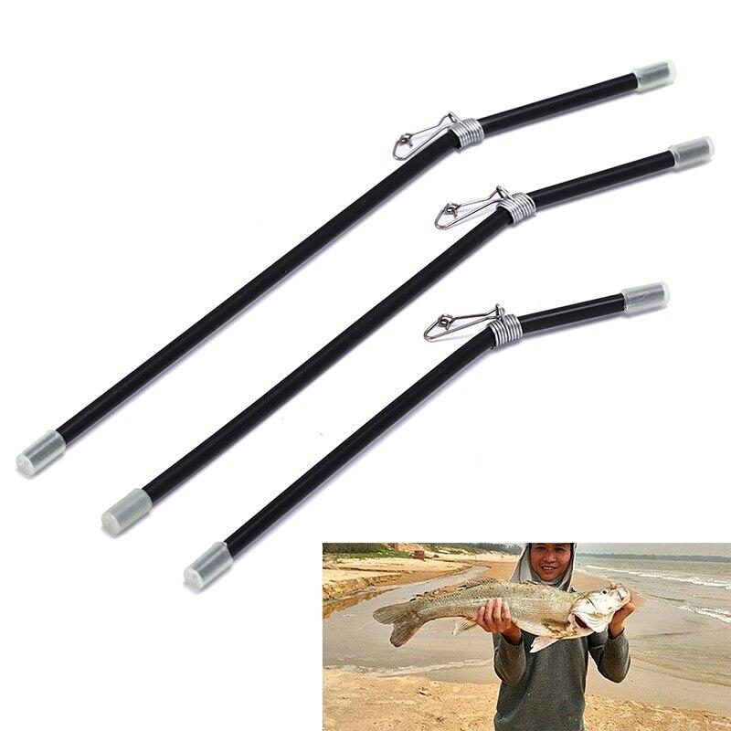 Black L Shape Fishing Balance Connector Pin Fish Supply Gear Plastic Swivel Accessory