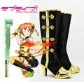 Love Live 2 Hoshizora Rin pequeña bailando estrellas en Me estilo chino Cosplay Shoes Boots