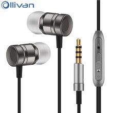 Ear Stereo Earphone Metal Earbuds Universal