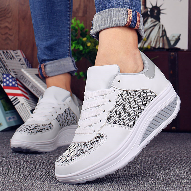 Fashion Sneakers for Women Summer ladies Platform Wedges Casual Shoes Trainers Basket Femme Zapatillas Deportivas Mujer
