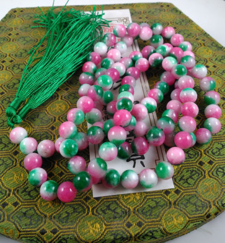Crystal Buddhist Free Shipping Miss Charm Jew974 Red Mala Prayer Beads 108 Hinduism Japa Meditation