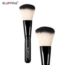BLUEFRAG Makeup Powder Brush Synthetic Foundation Soft Brushes Black Wood Handle Make Up Face Brush Pincel Maquiagem BLBR0026