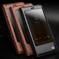 Real Genuine Leather Cover For Huawei Honor 8 Pro 5 7 Phone Case Natural Cow Skin