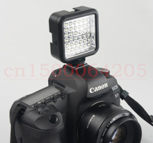 W36 36 LED Video Light Camera Lamp Light Photo Lighting for Cannon for Nikon for Sony for Panasonic Camera Camcorder