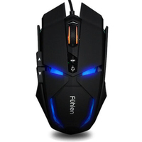 New fashion G300 Cool breath backlight Mouse ergonomics aggravating feel colorful USB cable Mouse game notebook computer Mouse