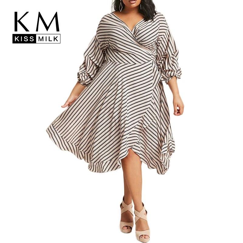 exquisite design reasonably priced exquisite style Goede Kopen Kissmilk Plus Size 2018 Nieuwe Mode Vrouwen Zomer ...
