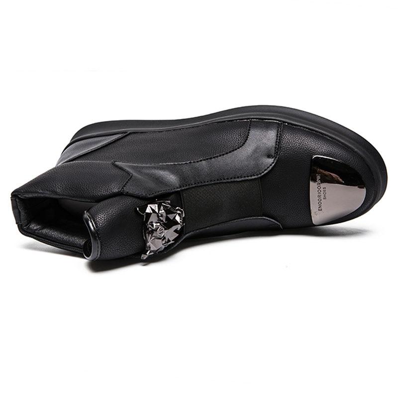 Zapatos Black Moda Hombres Botas Cuero Los De Genuino Para Hombre Hombre Tobillo Invierno Marca Bota Masculina 20d50 zXxqaqgw