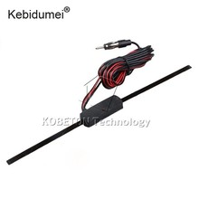 kebidumei 12V Aerial Antenna Universal Non-Directional Auto Car Windshield Electronic Antenna Mount TV AM/FM Radio(China)