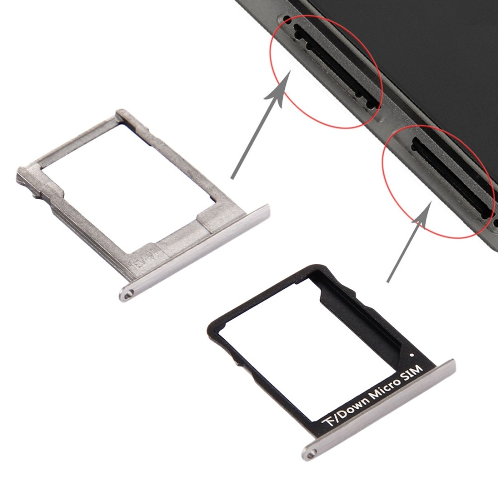 iPartsBuy for Huawei P8 Lite SIM Card Tray and Micro SD Card Tray ...