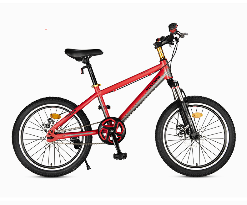 Mountain Bike Elementary Children 20-inch Adult Young Men And Women Bicycle Racing 18/20 Inch Teenagers Double Disc Brake Mounta