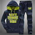 2015 Casual mens  Suit men's pants and hoodies sweatshirts Nice tracksuit men Brand clothing SET