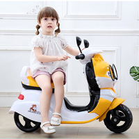 New Children Electric Motorcycle Three Wheels Electric Car for Kids Ride on 1 3 6 Years Charging Music Motorcycle Electric Trike