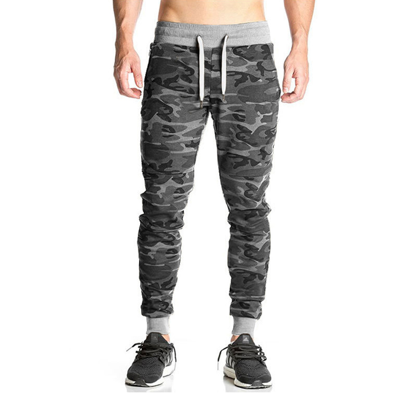 Mens Camouflage Pants Gyms Fitness Sporting Workout Casual Autumn Winter Skinny Trousers Joggers Tracksuit Compress Male Bottoms