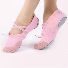 2017 Hot Child Ballet Pointe Dance Shoes Girls Professional Ballet Dance  Shoes With Ribbons Shoes Woman Soft Dance Shoes Girls 0550bb410de9