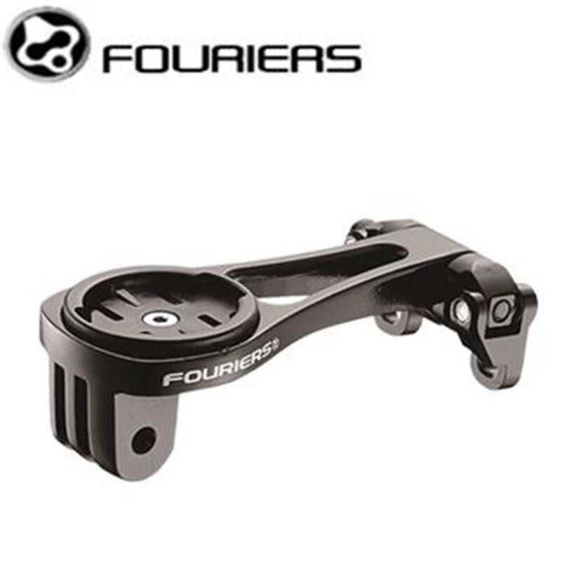 FOURIERS Computer Mount HA S022 4CA MTB Road Bike Suitable for Bike Handlebar For Garmin Edge