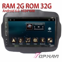 """Auto Players for JEEP Renegade 2016 9"""" Android 6.0 WANUSUAL Car Audio FM AM RDS Radio tuner with Amplifier free Reverse Camera"""