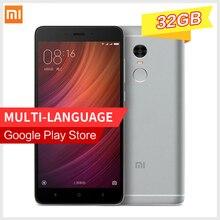 """Original Xiaomi Redmi Note 4 MTK Helio X20 Deca Core 3GB RAM 32GB ROM MIUI8 5.5"""" FHD 13MP Camera 4100mAh 4G Note4 Mobile Phone"""