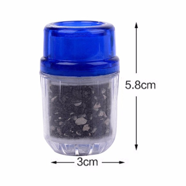 Universal Activated Carbon Charcoal Tap Water Purifier Kitchen Faucet Water Filter Home Hotel Health Household Water Filters Water Filter Parts