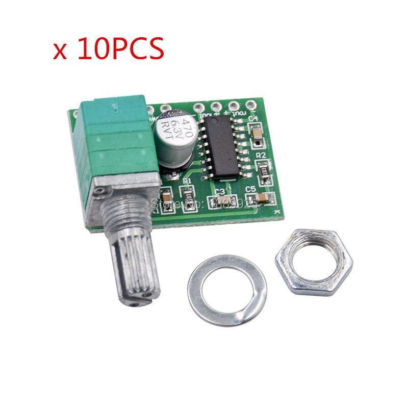 Free Shipping 10pcs/lot PAM8403 Mini 5V Digital Small Power Amplifier Board (USB Supply)
