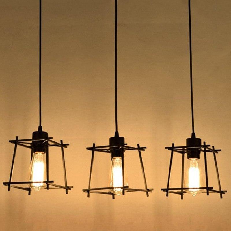 Vintage E27 Pendant Lights Loft Russia Pendant Lamp Retro Hanging Lamp Lampshade For Kitchen Dining Bedroom Home Lighting