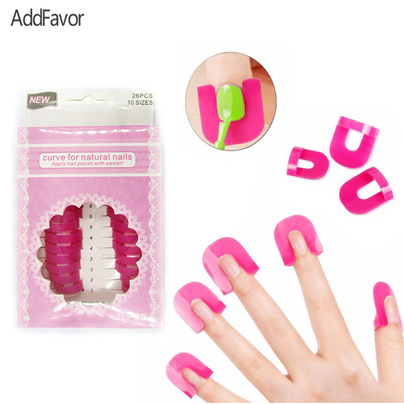 Book Cover Watercolor Nails ~ Addfavor pc nail gel model frame polish anti