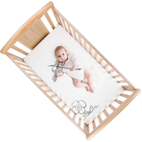 Douxbebe Multi Baby Crib, Solid Wood Mosaic Bed, Bb Cradle, Children, Multi functional Newborn, With Guardrail