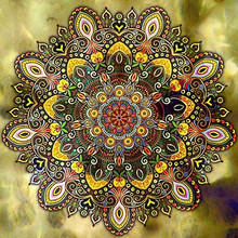 MOONCRESIN Diy Diamond Painting Cross Stitch Flowers Colorful Mandala Mosaic Full 3D Embroidery Decoration Handmade Gift