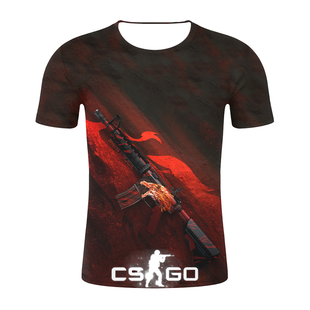 2019 Counter Strike Global Offensive CS GO Gamer   T     Shirt   CSGO 3D Men   T  -  shirt   Top Quality Brand Clothing Funny   T  -  Shirt   Mens Tee