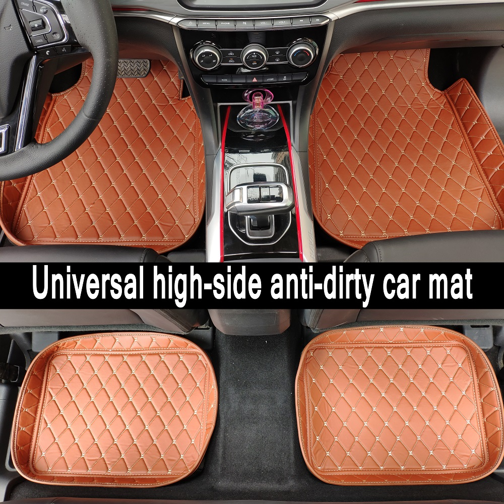 Universal Car Floor Mats For all models AUDI A1 A3 A4 A5 A6 A7 A8 Q3 Q5 Q7 A4L A6L A8L S5 TT accessorie car styling
