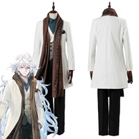 Fate Grand Order Merlin Cosplay Costume FGO Third Anniversary Outfit Men Video Game Halloween Carnival Costumes Custom Made