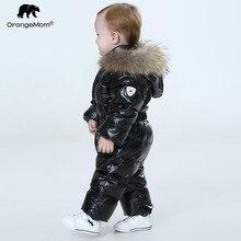 ออร์แกนิกOfficial Storeเด็กฤดูหนาวJumpsuit,Warm Outerwear & Coatsแจ็คเก็ตสำหรับหญิง,เสื้อผ้าเด็กBoys Parkaสวม