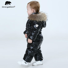 Orangemom Officiële Winkel Baby Winter Jumpsuit, Warme Bovenkleding & Jassen Jas Voor Meisjes, baby Kleding Jongens Parka Sneeuw Wear