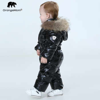 Orangemom official store baby winter jumpsuit , warm outerwear & coats jacket for girls ,  baby clothing boys parka snow wear - DISCOUNT ITEM  74% OFF All Category