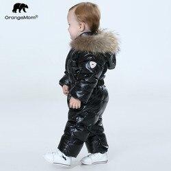 Orangemom offizielle shop baby winter overall, warme oberbekleidung & mäntel jacke für mädchen, baby kleidung jungen parka schnee tragen