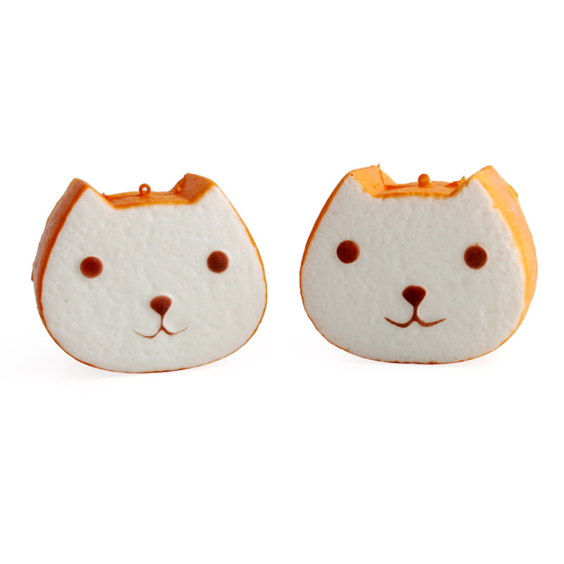 10cm Squishy Cat Bread Slow Rising Stress Relieve Kids Toy Cute Squishies Jumbo soft Mobile Phone Straps