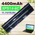 4400 mah bateria para dell xps 14 15 17 l401x l501x l502x l701x l702x 312-1123 312-1127 j70w7 jwphf r795x whxy3