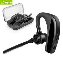 Leegoal K10 V8S V8 Беспроводные наушники с микрофоном 9 часов в режиме разговора Hands Free для вождения iPhone и телефона Android