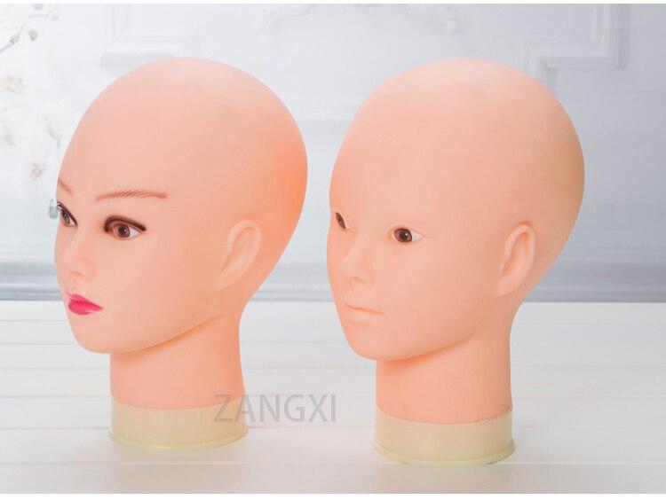 Реалистичная женская голова манекен для париков дисплей с бесплатным