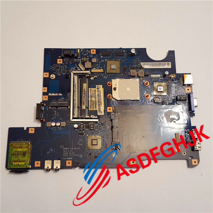 Original for Lenovo notebook G555 laptop motherboard NAWA2 LA 5972P mainboard Fully tested