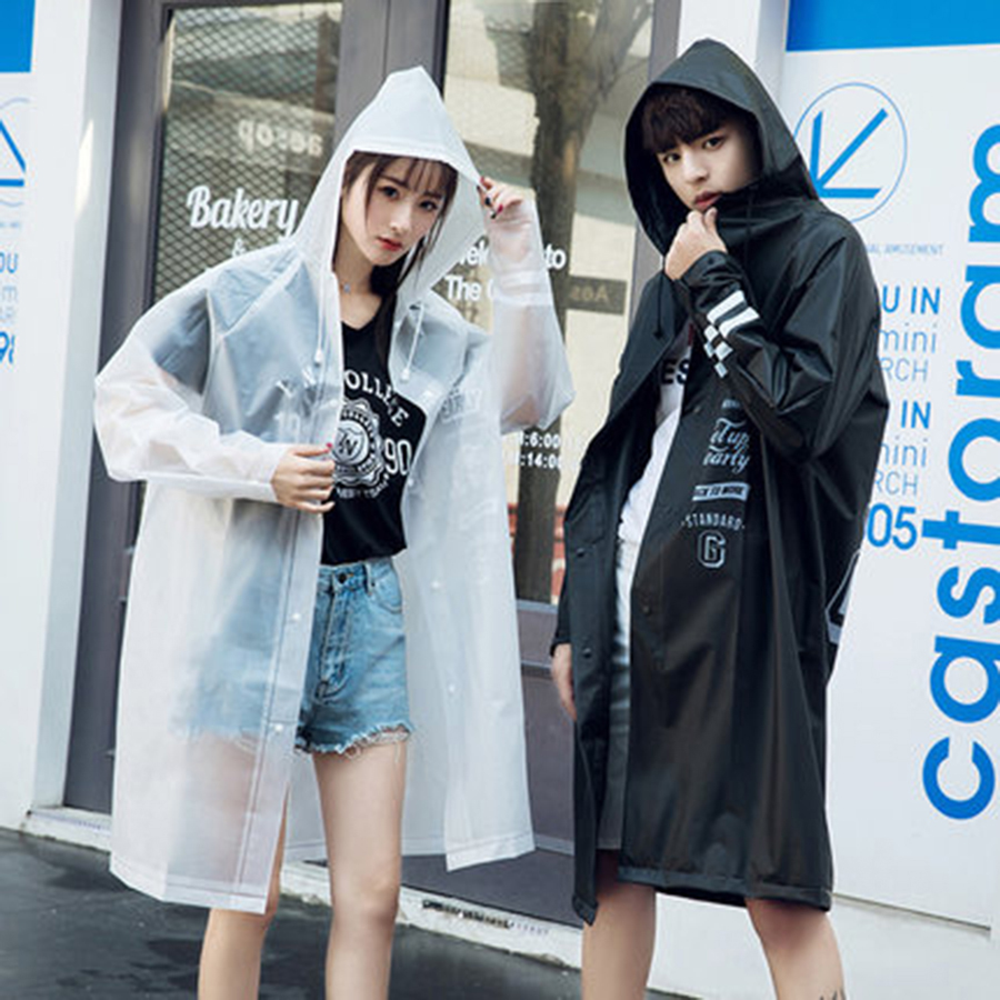 Travel Raincoat Transparent Rainwear Portable Coat Women Men Cover Rain Poncho  Impermeables Feminino 50KO169