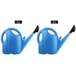 Garden Plastic Watering Can 5/9 L Large Capacity Long Mouth Thickened Plant Watering Kettle Garden Tools Outdoor Irrigation Jug