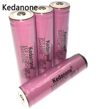 4 pcs Original for Kedanone protected 18650 3.7 V 2600mAh rechargeable battery  batteries ICR18650-26FM Industrial useFlashlight