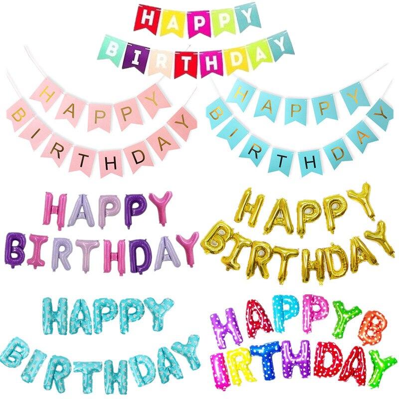 Aliexpress.com : Buy 13pcs Happy Birthday Balloon Eid