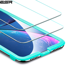 Защитная плёнка для экрана для iPhone XS XR XS Max ESR 5X Закаленное стекло Защитная пленка для iPhone XR XS Max 2018