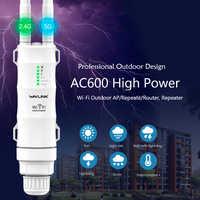 Routeur WIFI extérieur haute puissance Wavlink AC600/Point d'accès/CPE/WISP répéteur wifi sans fil double antenne Dand 2.4/5 Ghz 12dBi POE