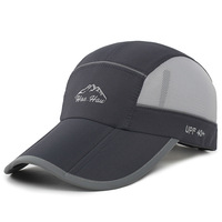 Quick Dry Summer Baseball Caps Foldable Hat For Men Women Casual Anti Ultraviolet Hat